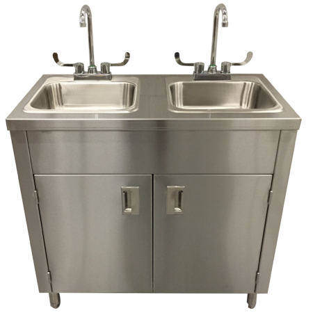 Portable Sink Stainless Steel Handwash Sink