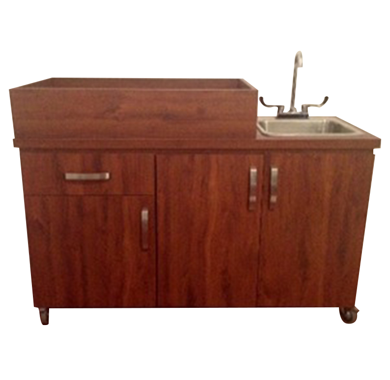 Portable Sink Depot | Changing Table With Portable Sink Hot U0026 Cold Water