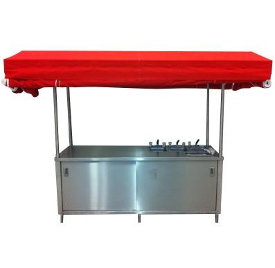 Portable Concession Food Cart Kiosk