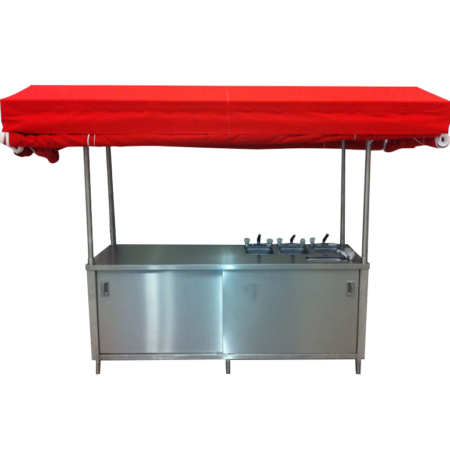 Portable Concession Food Cart Kiosk