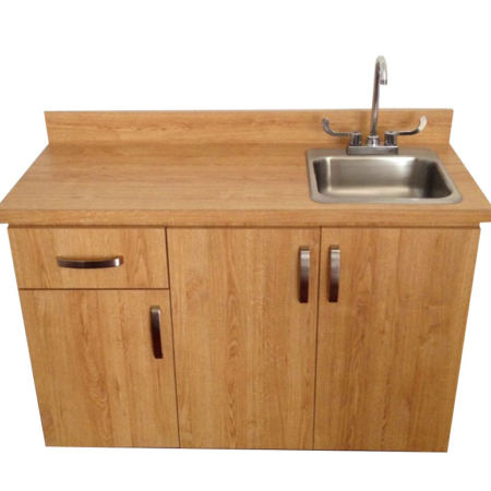 Portable Handwash Sink with Hot & Cold Water