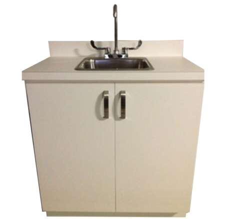 Portable Handwash Sink Unit Hot & Cold Water