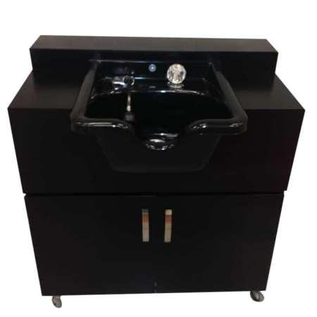 Portable Shampoo Sink shampoo bowl Hot & Cold Water