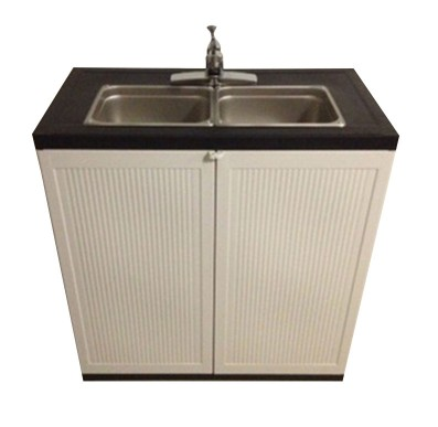 2 Compartment Portable Sink