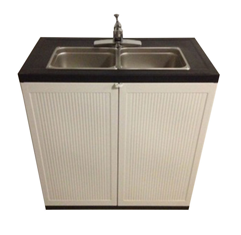 2 Compartment Portable Sink Portable Sink Depot